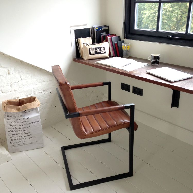 Industrial Office Furniture Add Vintage Charm And Create